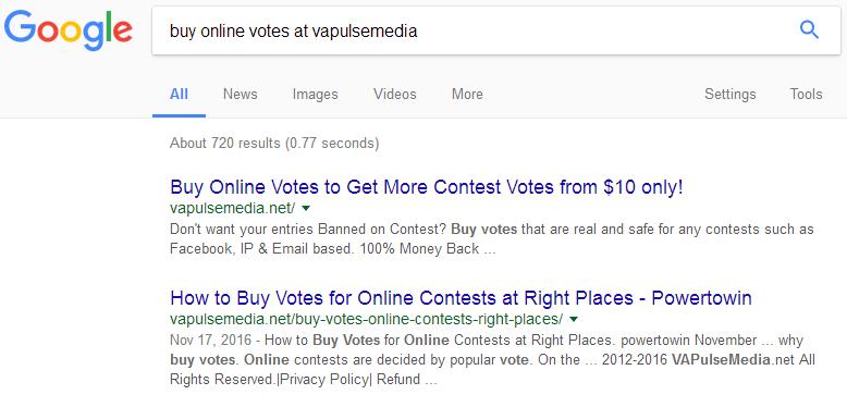 buy votes at vapulsemedia