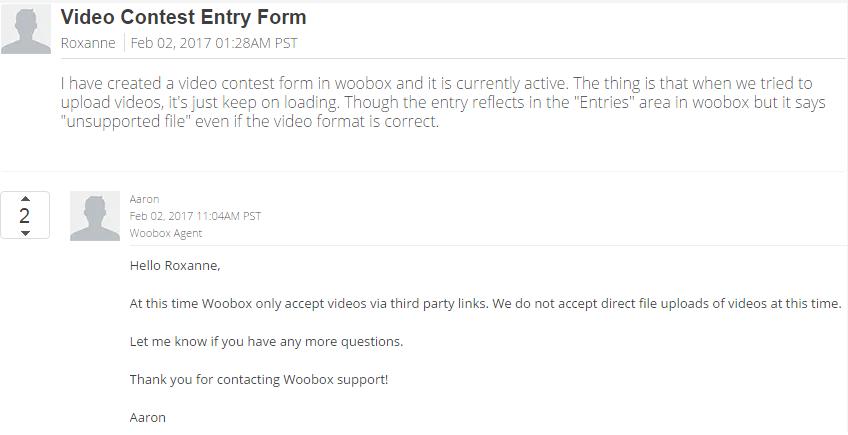 woobox forum