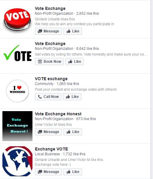 vote exchange
