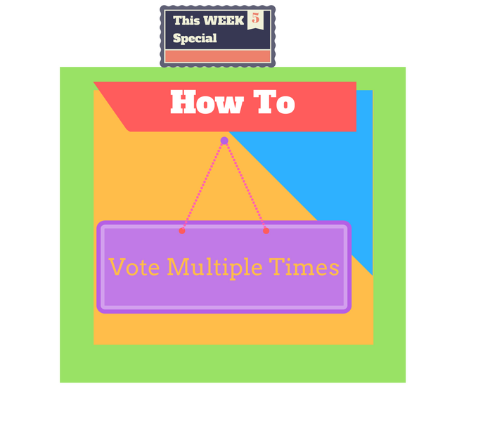 how to vote multiple times