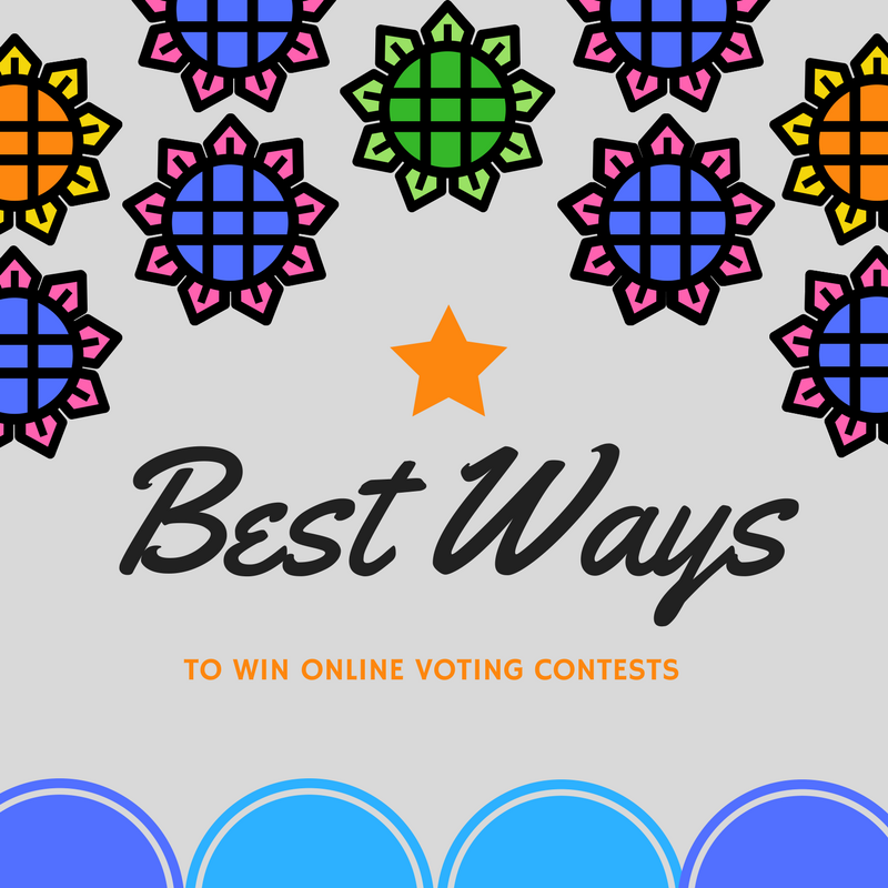 Ways to win online voting contests