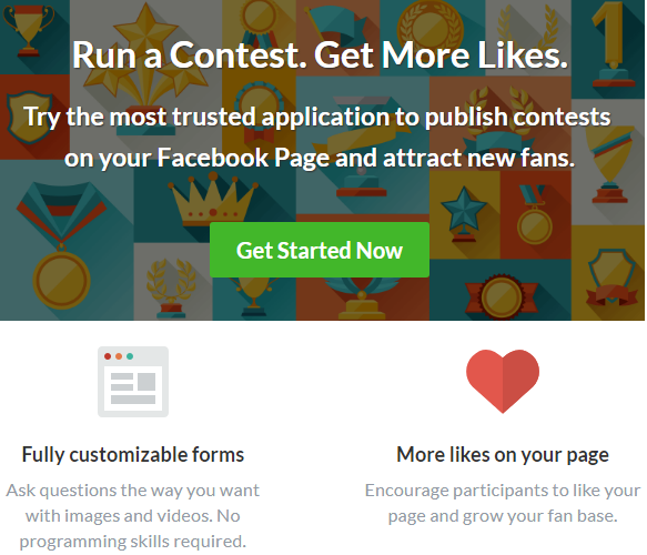 use apps on fb contest