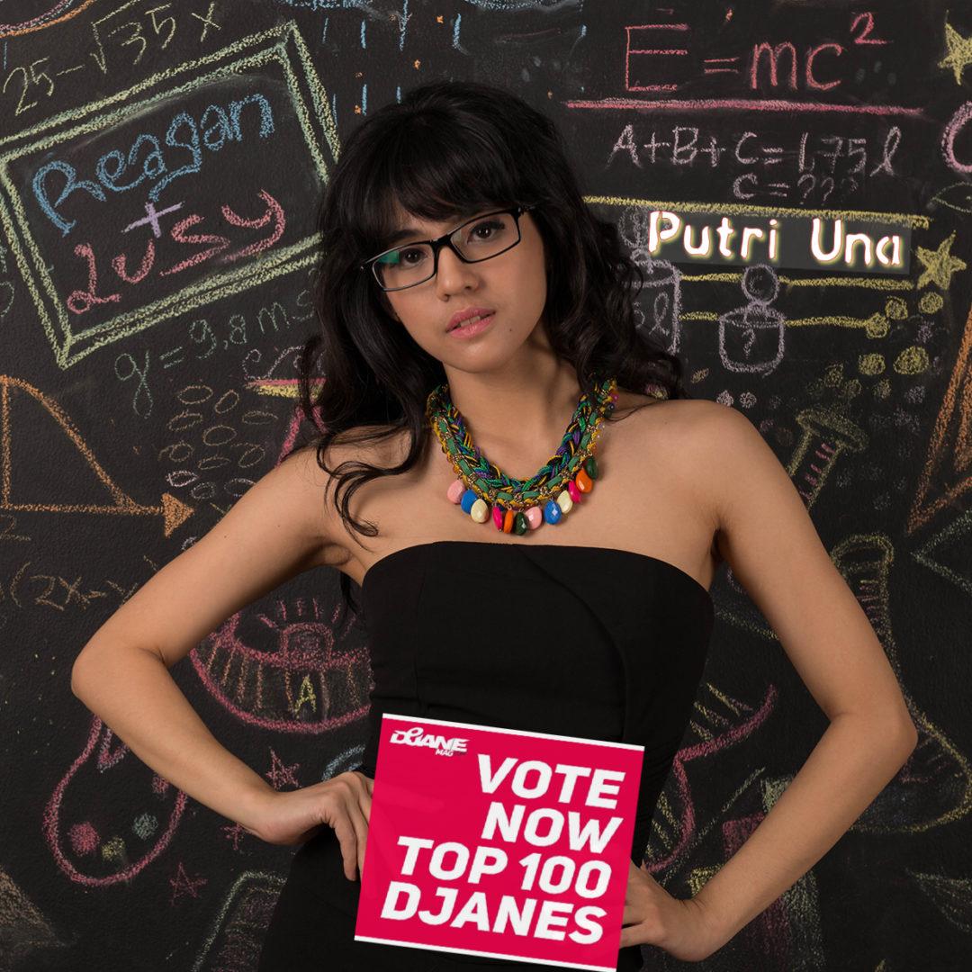DJ Una for DJanemag